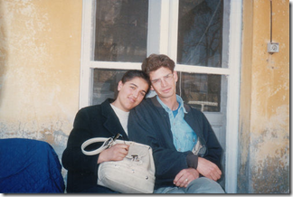 Sava & Ben after marriage